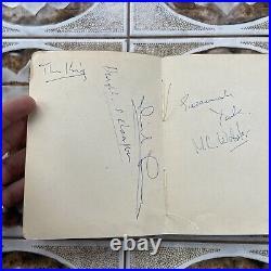 1960s Autograph Album Book THE ROLLING STONES + Actors + Footballers