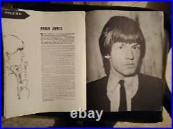 1964 autographed Rolling Stones 1st north american tour program