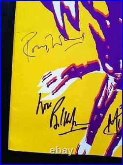 1990 THE ROLLING STONES signed Urban Jungle tour programme autographed Beatles