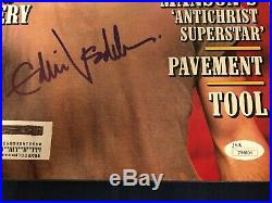 1996 Rolling Stone Magazine Eddie Vedder Signed Autograph Pear Jam COA JSA