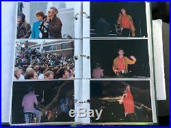 211 ROLLING STONES-Bridges To Babylon UNPUBLISHED PHOTOS, 1997 WithORIG Autograph