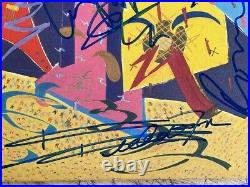 AUTHENTIC ROLLING STONES SIGNED LP COVER AUTOGRAPHED Charlie Watts STILL LIFE