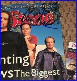 Adam Duritz Signed Rolling Stone Magazine Jsa Autograph Counting Crows Mr Jones