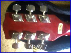 All 5 ROLLING STONES Signed Pre-1997 GIBSON SG Style CHERRY Electric Guitar