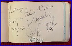 Autograph Book 1960s includes The Beatles, Rolling Stones and others