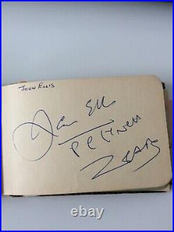 Autograph Book from 1960s (Including Rolling Stones, Tommy Roe, The Travelers)
