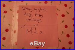Autograph Mick Jagger Dedicace Mick Jagger ROLLING STONES Autographe MICK JAGGER