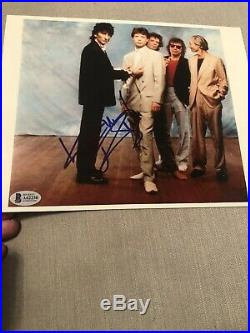Autographed Keith Richards 8x10 Photo Becket Letter gem 10 signed Rolling Stones