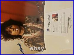 Autographed Keith Richards/Rolling Stones 16x20 Photo. Full Beckett Letter/Ra