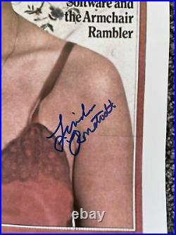 Autographed Linda Ronstadt Signed 11x14 Photo Rolling Stones Cover PSA STICKER 1