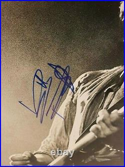 Autographed Rolling Stones/Keith Richards 11x14 Photo. Full Beckett Letter