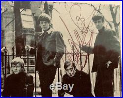 Autographed Rolling Stones Memorbelia All Original Members Including Brain Jones