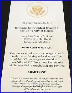 Barack Obama Signed 11x14 Color Photograph US PRESIDENT ROLLING STONES JSA RARE