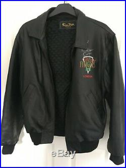 Bill Wyman Autographed Leather Jacket