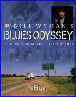 Bill Wyman Rolling Stones Autographed Havers Blues Odyssey Book UACC RD AFTAL