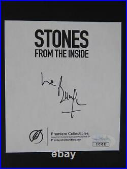 Bill Wyman Rolling Stones From The Inside Signed Autographed HC Book New JSA COA