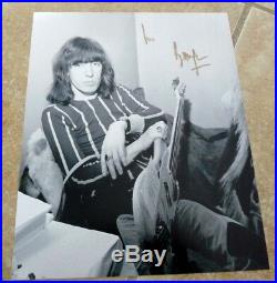 Bill Wyman Rolling Stones Signed Autographed 8x10 Photo BAS Beckett Certified #1
