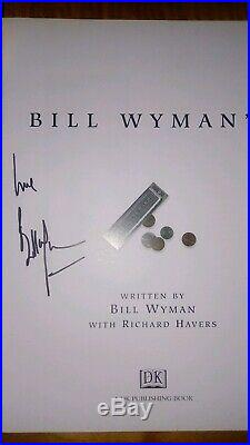 Bill Wyman Signed book Blues Odyssey Rolling Stones Autographed First Edition