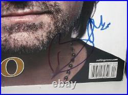 Bono Signed U2 Rolling Stone Magazine The Edge Classic Rock Autograph Jsa Loa