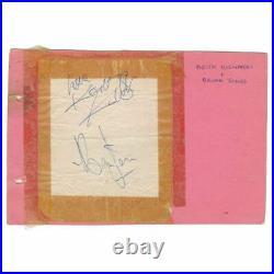 Brian Jones & Keith Richards Autographs (UK)