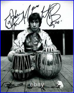 CHARLIE WATTS Autographed Signed Photograph THE ROLLING STONES To John