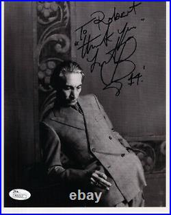 CHARLIE WATTS HAND SIGNED 8x10 PHOTO DRUMMER ROLLING STONES TO ROBERT JSA