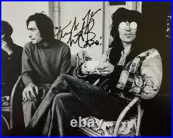 CHARLIE WATTS HAND SIGNED 8x10 PHOTO THE ROLLING STONES DRUMMER AUTOGRAPH