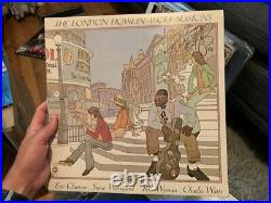 CHARLIE WATTS Signed Autographed ROLLING STONES LP VINYL HOWLIN WOLF LONDON