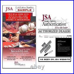 CHARLIE WATTS Signed ROLLING STONES DRUMMER 8x10 Photo Autograph JSA COA Cert