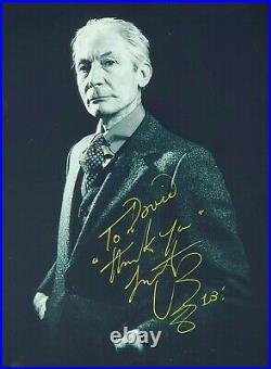 CHARLIE WATTS The Rolling Stones Signed/Autographed 8x10 Photograph
