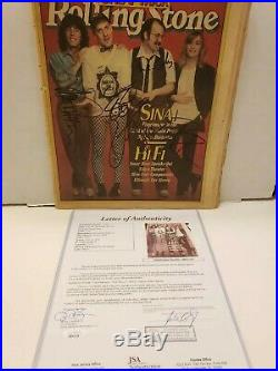 CHEAP TRICK Autographed Rolling Stone Magazine. By All 4. JSA
