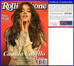 Camila Cabello Signed Rolling Stone Magazine Havana PSA/DNA COA
