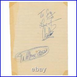 Charlie Watts 1964 Autograph (UK)