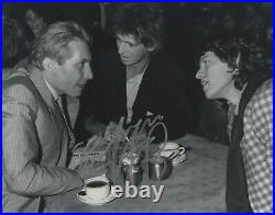 Charlie Watts Autograph Signed 8x10 Photo Rolling Stones Drummer #5