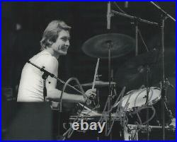 Charlie Watts Autograph Signed 8x10 Photo Rolling Stones Drummer #6