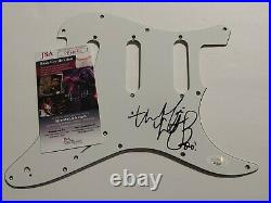 Charlie Watts ROLLING STONES Music Signed Autographed Guitar Pick Guard JSA