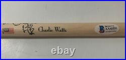 Charlie Watts Rolling Stones Signed Autographed Drumstick Beckett Certified #2