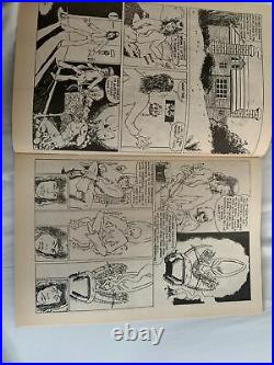Charlie Watts Signed Comic Book Rolling Stones Drummer Autographed Jsa Coa Rare