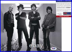 Charlie Watts The Rolling Stones Signed Autograph 8x10 Photo PSA/DNA COA #4