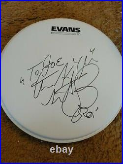 Charlie Watts signed, Rolling Stones Signed