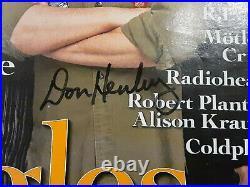 Don Henley Glenn Frey Joe Walsh Autographed Signed Eagles Rolling Stone Magazine