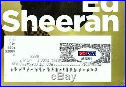 ED SHEERAN Signed Autographed Rolling Stone Magazine PSA/DNA #AF20214