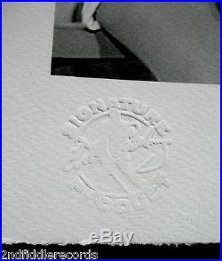 ELVIS PRESLEY-NANCY SINATRA Autographed Hulton Getty Ltd. Ed. 40x14 Giclee Art