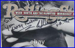 Eddie Van Halen signed autographed Rolling Stone Magazine! RARE! EXACT PROOF