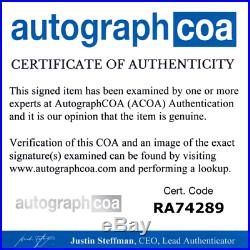 Fiona Apple Autographed Signed Rolling Stone Magazine ACOA