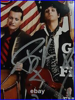 Green Day Autographed Signed 3 Sigs. May 28th 2009 Rolling Stone Magazine Rare