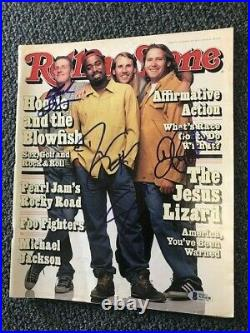 Hootie And The Blowfish Signed Rolling Stone By 4 Autographed Auto Bas Not Psa