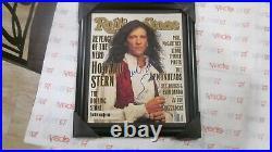 Howard Stern Autographed Framed Rolling Stone Magazine W. Self Carature Coa 1994