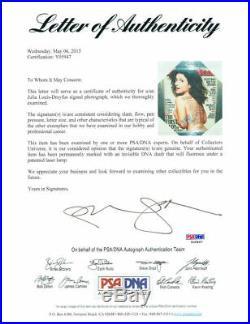 Julia Louis-Dreyfus Signed Framed Rolling Stone 11x14 Photo PSA/DNA #Y05947