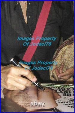 Julia Louis-Dreyfus Signed Rolling Stone Cover 11x14 Photo EXACT Proof COA Veep